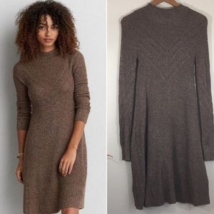 American Eagle Outfitters mock neck knit dress